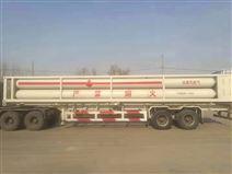 CNG压缩天然气运输车 8管cng槽车尾