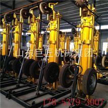 气动联动水井钻机KQZ-180D轮式岩石钻孔机