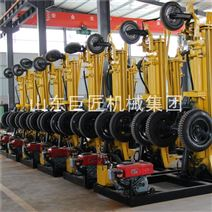 200米气动轮式打井机KQZ-200D民用水井钻机