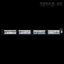 六类非屏蔽24口配线架一体式