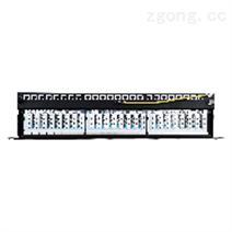 六类24口屏蔽RJ45配线架一体式
