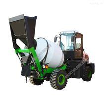 1.2立方搅拌车 混凝土自助上料车厂家