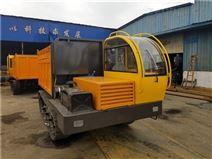 山東濟寧液壓小型鋼制履帶運輸車