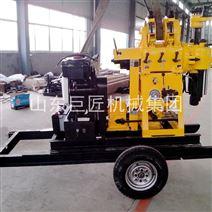 巨匠XYX-200輪式水井鉆機牽引式鉆井機廠家