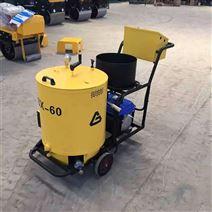来厂试机常温移动式沥青胶灌缝机动力升级