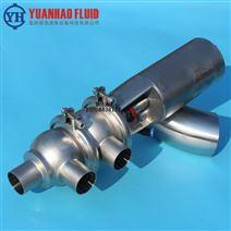 卫生级F型气动焊接换向阀