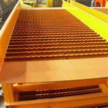 四川淘金溜槽選金船 礦山FGS12選金振動溜槽