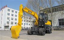 輪式挖掘機輕松應對山區工況