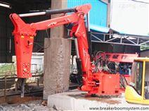 锤式固定式液压破碎机