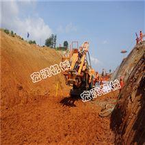 高邊坡支護鉆機型號供應6米,8米,10米