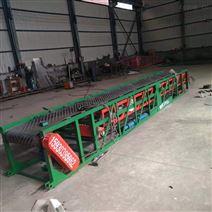 電動伸縮輸送機訂制集裝箱伸縮裝卸車傳送機