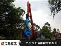 河南芳富液壓震動打樁錘代理廠家