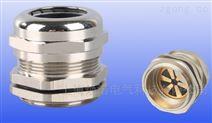 黄铜镀镍屏蔽电缆接头 EMC防电磁填料函