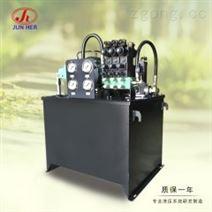骏合五轴机液压系统