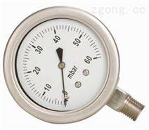 銓儀壓力表LB-100MM-350KG