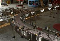 轉彎鏈板輸送機
