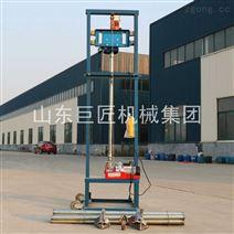 農村鉆井設備龍門架式兩相電打井機