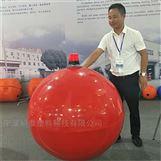 1米警示浮球 海上乐园拦截浮球 赛道浮球