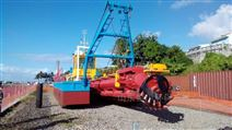 恒川絞吸式挖泥船 清淤船 環保清淤設備