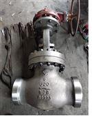 Z61Y-900LB美標焊接閘閥 傘齒輪閘閥