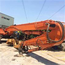 鉤機改裝打樁臂、挖掘機打樁錘制造廠家