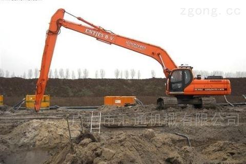 挖掘机改装加长臂、湖北工程机械配件厂家