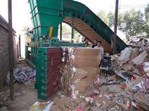 曲阜卧式打包机处理固废垃圾秸秆厂家直销