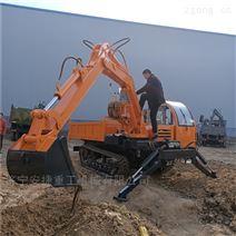 8吨履带式随车挖 自装车履带运输车